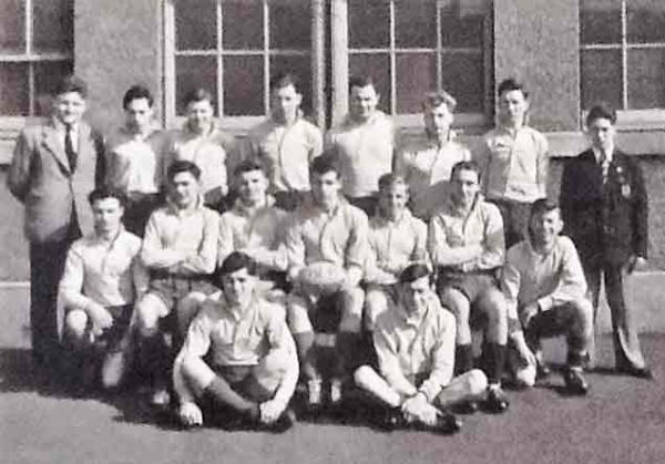 Broughton School  Rugby First XV  -  1952-53