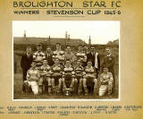 Broughton Star Football Club, Winners of the Stevenson Cup  1945-46