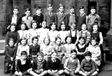 School Class at Cartle Hill School.  This is the class of a pupil who attended the school from 1945 to 1950
