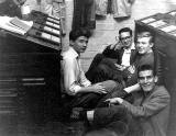 R&R Clark, Brandon Street, Canonmills  -  Apprentices' Tea Break, around 1962