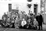 R&R Clark workers on their outing to the Burns Supper 1959