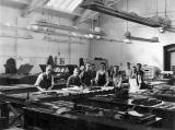 R&R Clark, Brandon Street, Canonmills  -  Depositors in Caseroom No.2, around 1953
