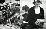 R&R Clark, Brandon Street, Canonmills  -  Binding Department, Joyce Thomson and (perhaps) Pat