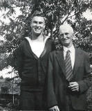 Davis Stewart's uncle and grandfather from Craigmillar, Edinburgh