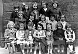 Drummond Street School Class  -  photographed when