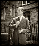 Edinburgh University, Rectorial Battle Day 1963  -  Duke of Edinburgh, applauding