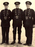 Stockbridge Fire Station  -  New Recruits to Edinburgh Auxiliary Fire Service, 1939