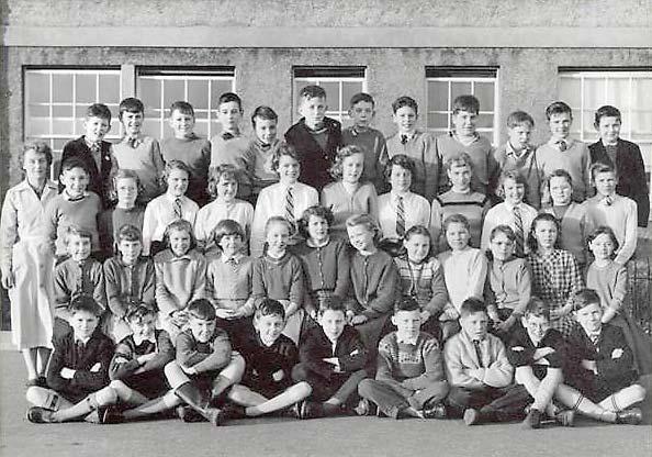 Edinburgh History Granton School Class Around 1950