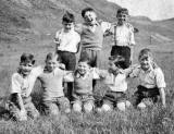 Boys from Heriot Mount in King's Park, August 1950