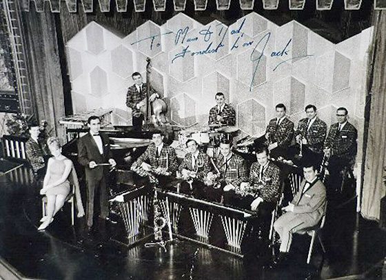 Jack Hawkins' Band at The Palais de Dance, Fountainbridge, Edinburgh  -  1962