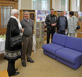 A surprise party for John Stewart, creator of the Old Leither web site.  The party was held at Leith Library on October 9, 2010.