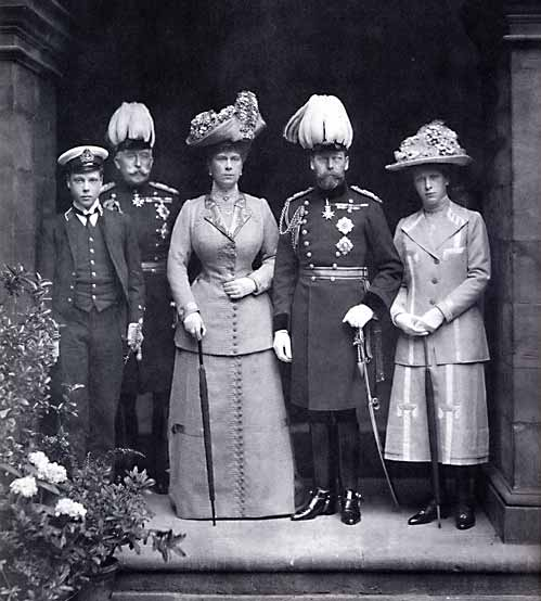 Photograph of King George V and Queen Mary - by William Crooke