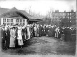 Opening of the Tennis Courts at Leith Links  - 1914