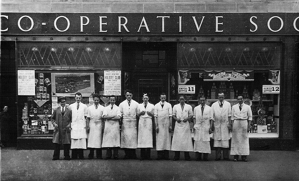 Workers At Leith Provident Coop Boswall Parkway