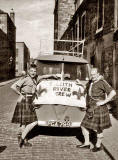 Leith Rovers, about to set off on a trip to Austria - 1950s