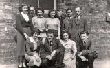 Leith Walk Goods Office Staff, 1952
