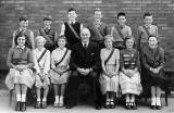 Lismore Primary School  -  Prefects and Headmaster, 1959-60