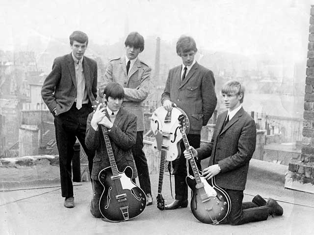 Edinburgh Groups in the 1960s  -  The Moonrakers