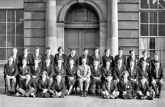 Moray House School, Class 3B, 1955 (probably)