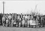A class from Ravenscroft School, Gilmerton, around 1953