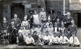 Roseburn Primary School play, performers  -   around 1926