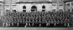 Royal Scots Fusiliers  -  Photo by A Hutchjison & Son, Colinton, Edinburgh, probably taken in Edinburgh during World War 2