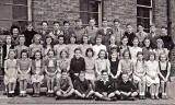 A class at Royston Primary School  -  1946