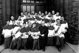 Altar Boys at Sacred Heart Church, around 1952
