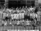Sighthill Road Coronation arty 1953
