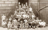 A group of children at St James Square, Edinburgh  -  Around 1928