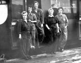 St Margaret's Railway Depot  -  Cleaners and Carriage