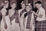 St Mary's Primary School, York Lane  -  Scotish Country Dancing Class, around 1951