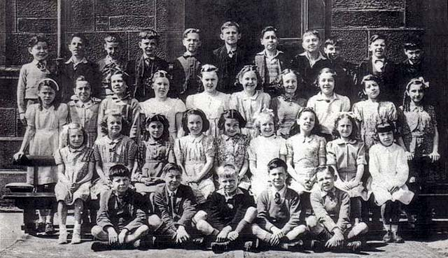 St Mary's, Star of the Sea School, Leith  -  Final Year 1946