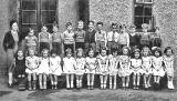 School class at St Ninian's school, around 1940-41