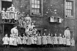 St Saviour's Child-Garden kindergarten, Chessel's Court, Canongate, Edinburgh  -  A School Muster