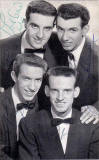 The Crew Cuts  -  signed photograph of the group  -  early 1950s