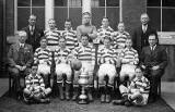 Towerbank Cup-Winning Football Team  -  Eaarly-1930s