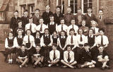 Class at Towerbank School - 1955