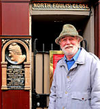 "Graeme Cruickshank, Leader of the ""Aspects of Edinburgh"" series of walks"