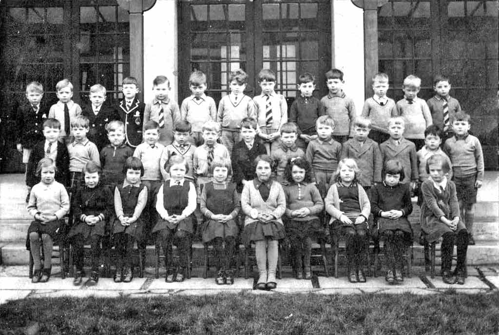 Photograph by J R Coltart  -  Wardie Primary School, 1935