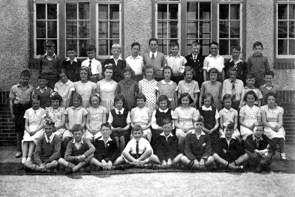 Photograph by J R Coltart  -  Wardie Primary School, 1936