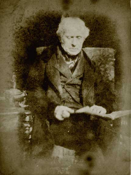 Sir David Brewster  -  a calotype by Hill & Adamson
