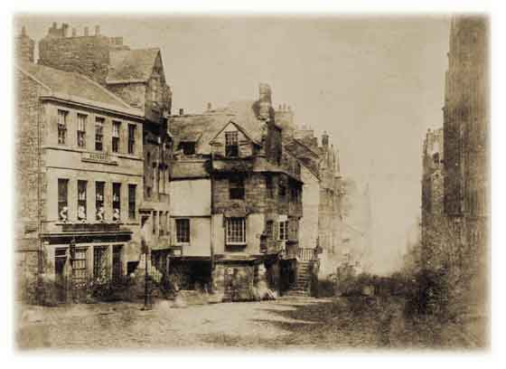 Hill & Adamson calotypes - John Knox House