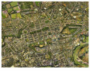 Aerial Map of Edinburgh  -  2001