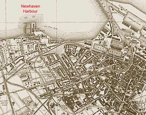 Newhaven maps  -  1917  -  zoomed-out