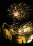 Edinburgh Castle and Fireworks