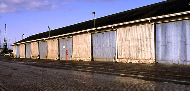 Edinburgh at Work  -  Anderson's Cooperage  -  Leith Docks, 1992