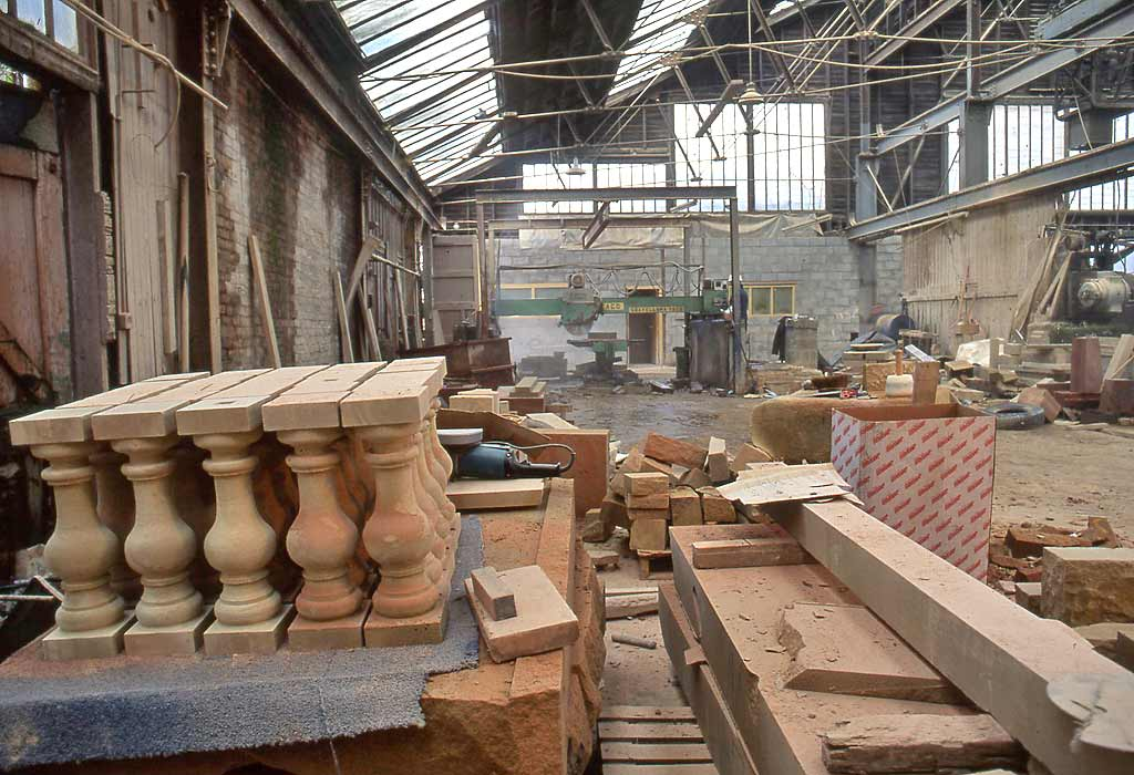 Clark Stonemasons  -  Canonmills, Edinburgh