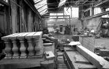 Clark Stonemasons  -  Canonmills, Edinburgh  -  carving stone