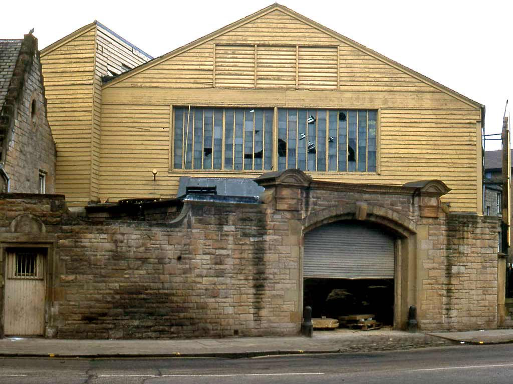 Clark Stonemasons  -  Canonmills, Edinburgh  -  1991